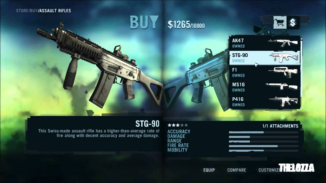 farcry 3  all weapons in-store list