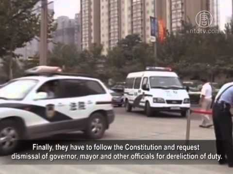 Heilongjiang Peasants Start Campaign Calling for Dismissal of the Governor