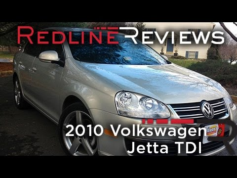 2010 Volkswagen Jetta TDI Review. Walkaround. Exhaust. Test Drive