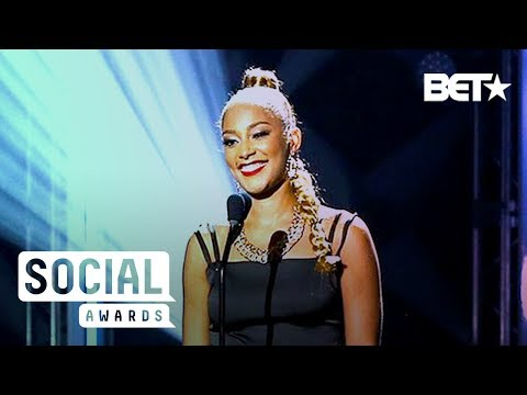 'Insecure' Star Amanda Seales Gives Def Poetry Jam-Esque Performance | BET Social Awards