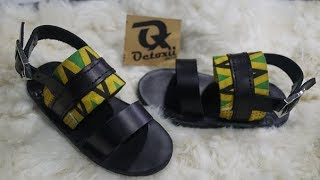 summer wear for kids 2018 leather and Ankara