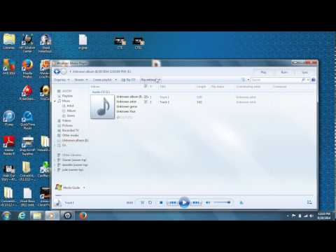 How To Rip A CD Using Windows Media Player