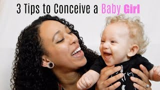 How to conceive a baby girl NATURALLY | TanaB