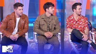 The Jonas Brothers Reveal Who Cried Listening To 'Happiness Begins' | MTV