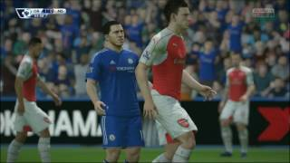 FIFA16 - Chelsea-Arsenal (Premier League)