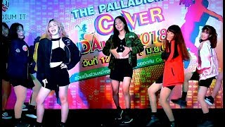 """ReRank"" cover ""Intro+♬WHATTA MAN(GOOD MAN)"" (I.O.I) @ ""The Palladium Cover Dance Contest 2018"""