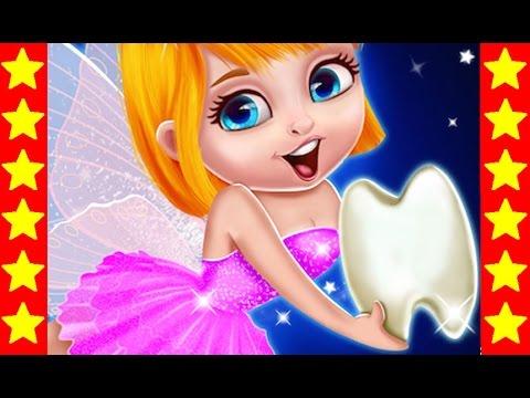 День из жизни зубной феи! Интересные мультики для детей. Детские мультфильмы про фею.