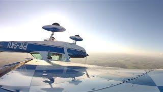 Cessna 152 Aerobatics Acrobacia Solo EJ Itapolis