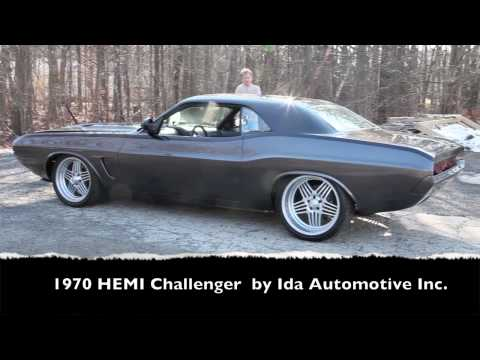 1970 HEMI Challenger Hot Rod by Ida Automotive