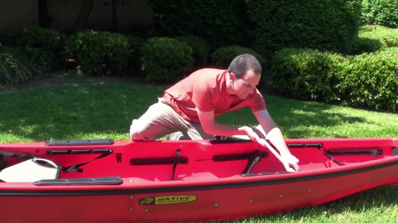 Converting The Ultimate 14 5 Tandem Into A Solo Kayak