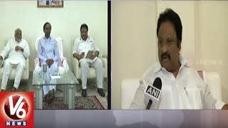 TRS MP Jithender Reddy On CM KCR's Meeting With Mamata Banerjee Over Third Front