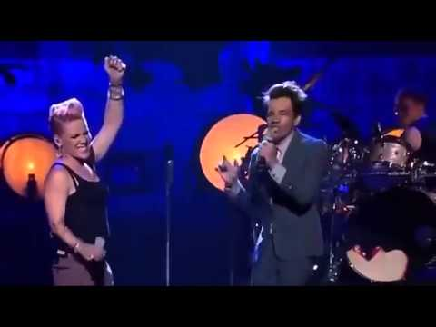 Just Give Me a Reason -  Pink &amp; Nate Ruess (Live)