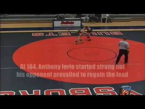 Gettysburg Wrestling - McDaniel Highlights