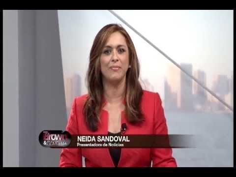 """Neida Sandoval en """"Brown y Compañía"""" Mundo Fox 8"""