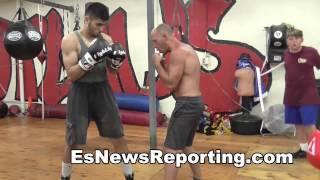 working on landing the liver shot boxing basics - EsNews Boxing