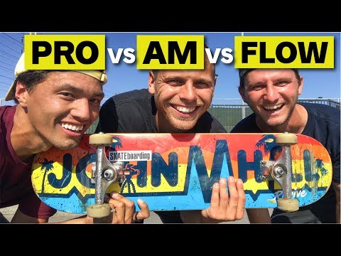 FLOW VS AM VS PRO!!  What's the difference?