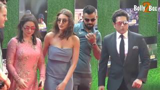 Anushka Sharma In Grey Attire & Virat Kohli at Sachin A Billion Dreams Grand Premiere | Bolly2Box
