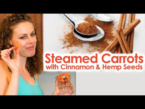 Healthy Snacks for Sugar Cravings, Weight Loss Tips, Cinnamon Carrots, Protein, Vegetarian, Vegan