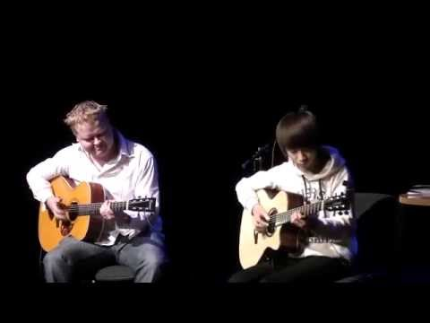 Hotel California - Sungha Jung & Tomi Paldanius (live) video