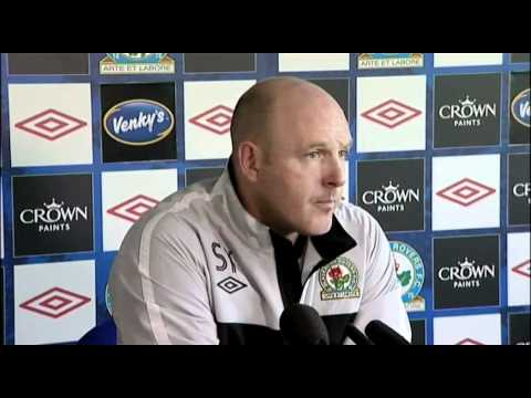 Steve Kean issues rallying call to fans | Premiership - Man City 1-0 Blackburn 25-04-11