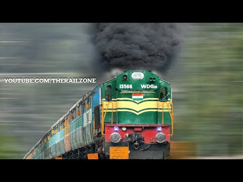 Smoking ALCo on a Gradient | Woman Loco Pilot | Indian Railways thumbnail