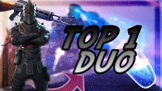 top 1 duo avec YZTrunKz avec l'arme aK47 sur fortnite