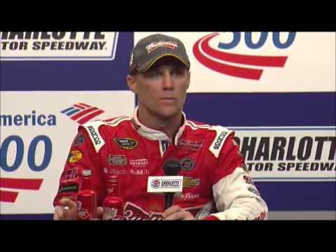 NASCAR Race Winner Video   Kevin Harvick   Winner Bank of America 500