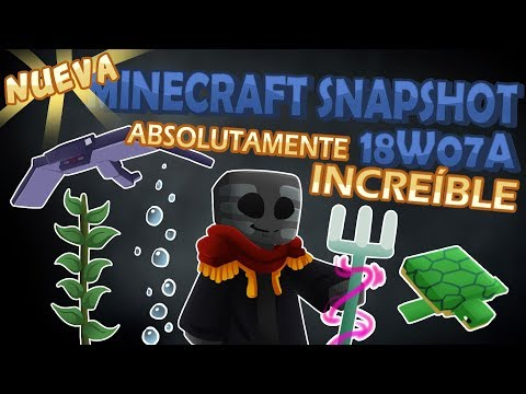 Minecraft Review 18w07a [ABSOLUTAMENTE INCREÍBLE]