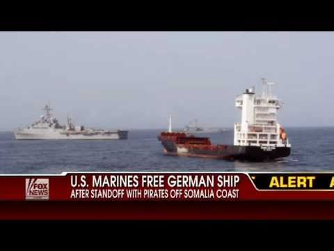 Marines Rescue Hijacked Ship From Somalia Pirates Control