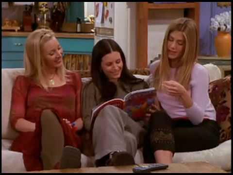 Friends Subtitulado Rachel Monica Y Phoebe Viendo Una