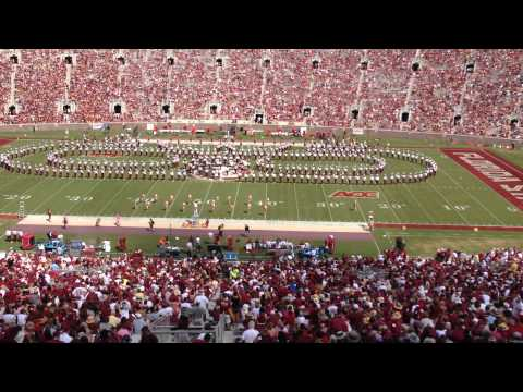 FSU Marching Chiefs • FSU vs Maryland halftime show, October 5, 2013