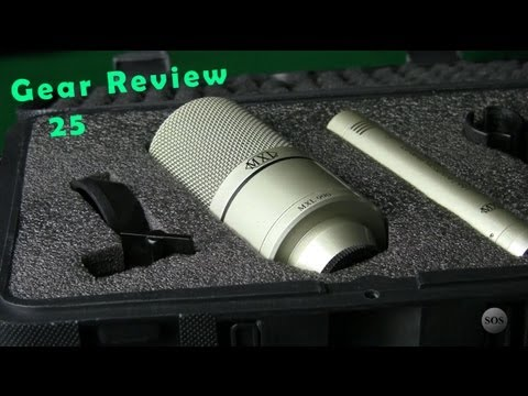 MXL 990/991 Condenser Microphone Recording Package - Gear Review 25