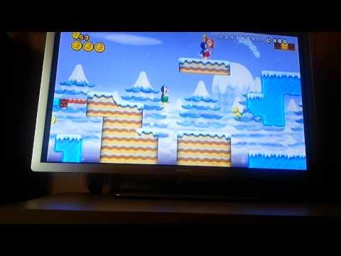 madre e hijo new super Mario bros mundo