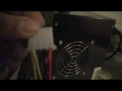 How To Make A Car Power Amp Work On AC Power Using A PC Power Supply