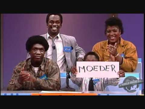 Young Clarence Seedorf winning a color TV with teletext AND remote control!