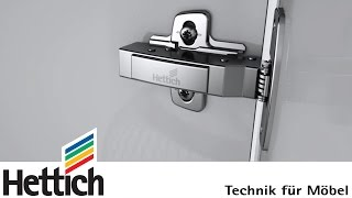 Sensys with integrated Silent System - made by Hettich