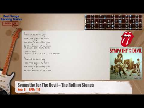 Nice Sympathy For The Devil Chords Ornament - Beginner Guitar Piano ...