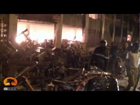 Grand marché de Lomé : impuissance des pompiers et scenes de désolation [12/01/2013]