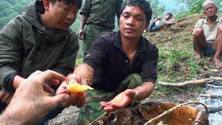 Hallucinogen Honey Hunters - Hunting mad honey - documentary  from Raphael Treza