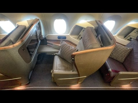 Singapore Airlines A350 Business Class - Gorgeous!