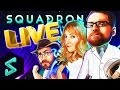 Heroes of the Storm Gameplay | TGN Squadron LIVE | Heroes of the Storm ft. MFPallyTime | HoTs | TGN