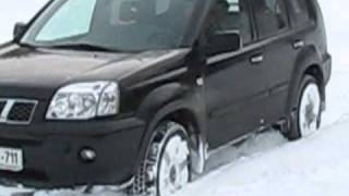 Nissan - test in the snow.wmv