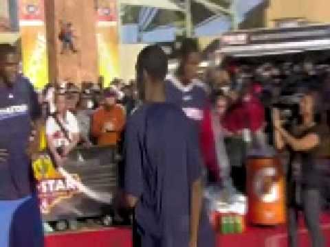 Kevin Durant OJ Mayo Joe Johnson NBA All Star 2009 Playing HORSE Video
