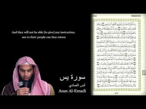 Anas Al-Emadi ۩ Surah Ya-Seen