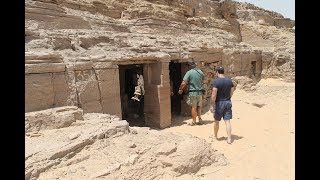 Massive Tombs Of The Nobles At Aswan In Egypt: A Megalithic Inheritance?