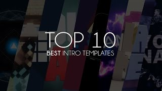 Top 10 Best Intro Templates of 2014