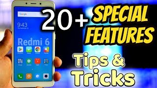 Xiaomi Redmi 6 Top 20 Best Features   Redmi 6 Tips And Tricks in Hindi   Data Dock