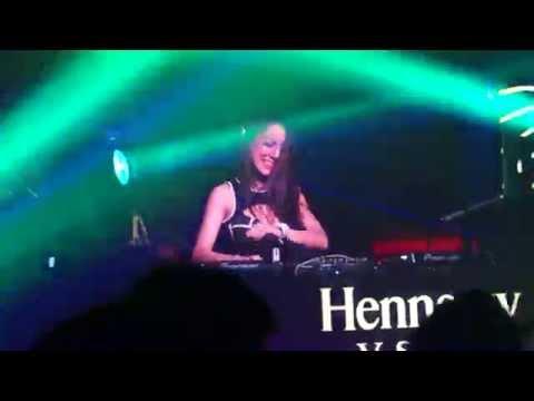 DJ Nana on Hennessy V.S.O.P Party 2016 at Club Celebrities Miri, Malaysia (16/7)