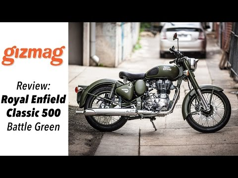 Royal Enfield Classic 500 - Battle green review