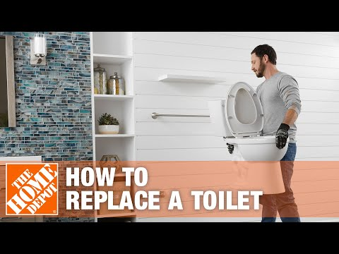 How To Replace or Install a Toilet - The Home Depot